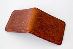 Vintage Tooled Leather Wallet
