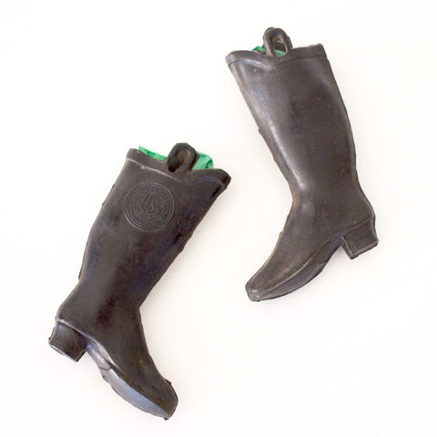Pair of Tiny Rubber Boots