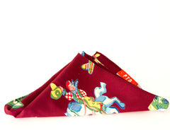 Marooning Cowboy Fiesta Rayon Pocket Square by Put This On