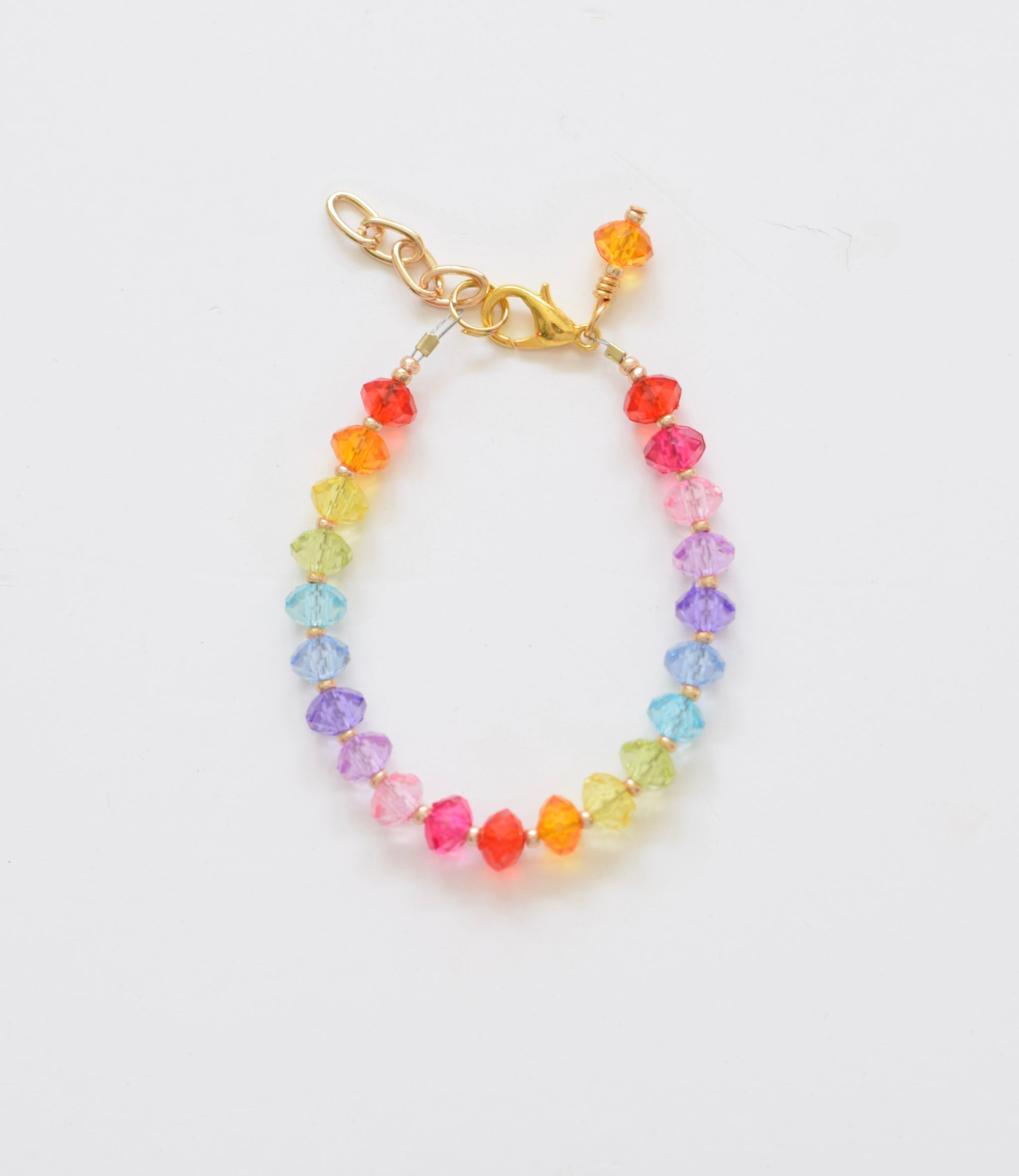 zoom rainbow delicate bracelet lfwo gemstone faceted genuine listing il fullxfull