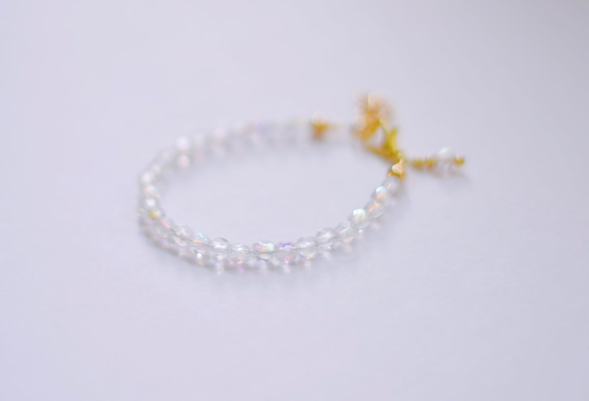Crystal Faceted Bracelet