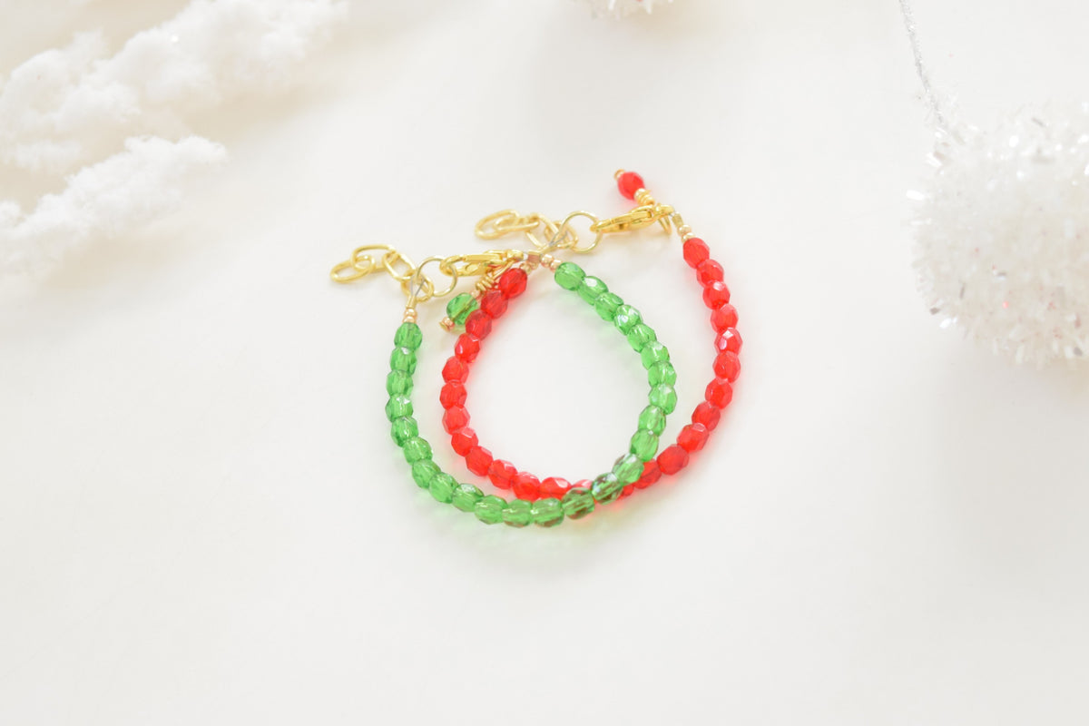 Garland Faceted Bracelet