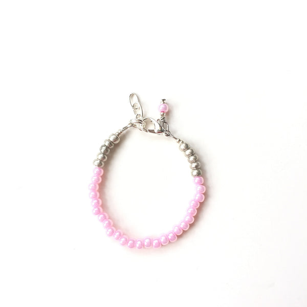 Baby Pink Stackable Bracelet