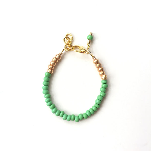 Green Apple Stackable Bracelet