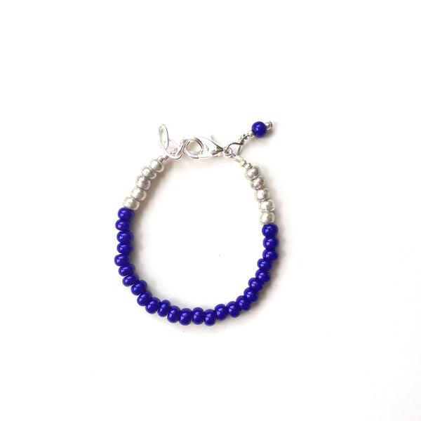 Cobalt Stackable Bracelet
