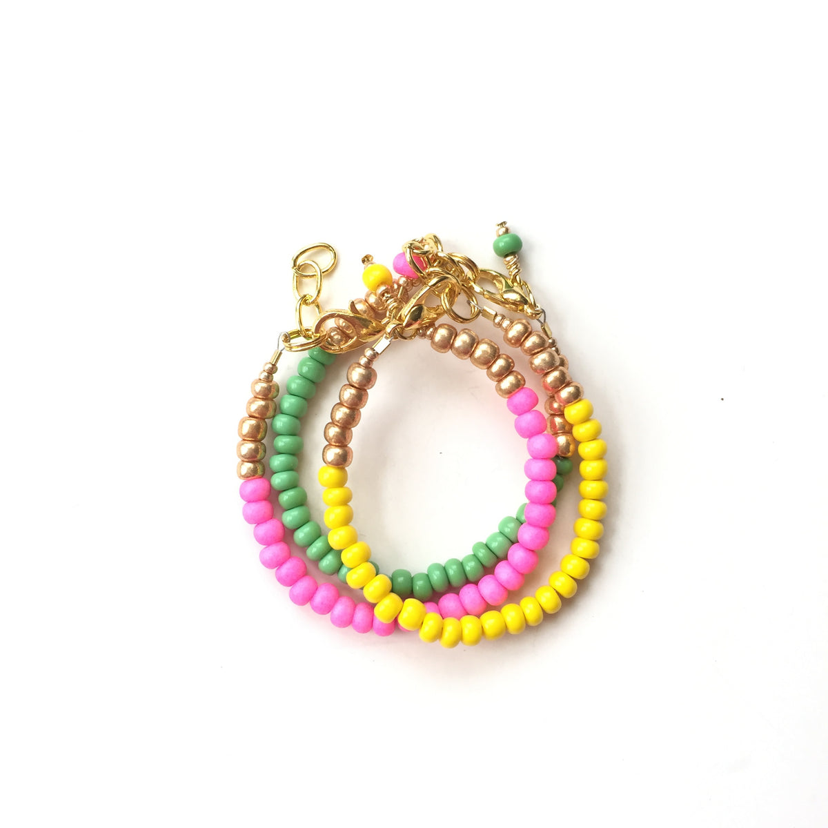 Lemon Stackable Bracelet
