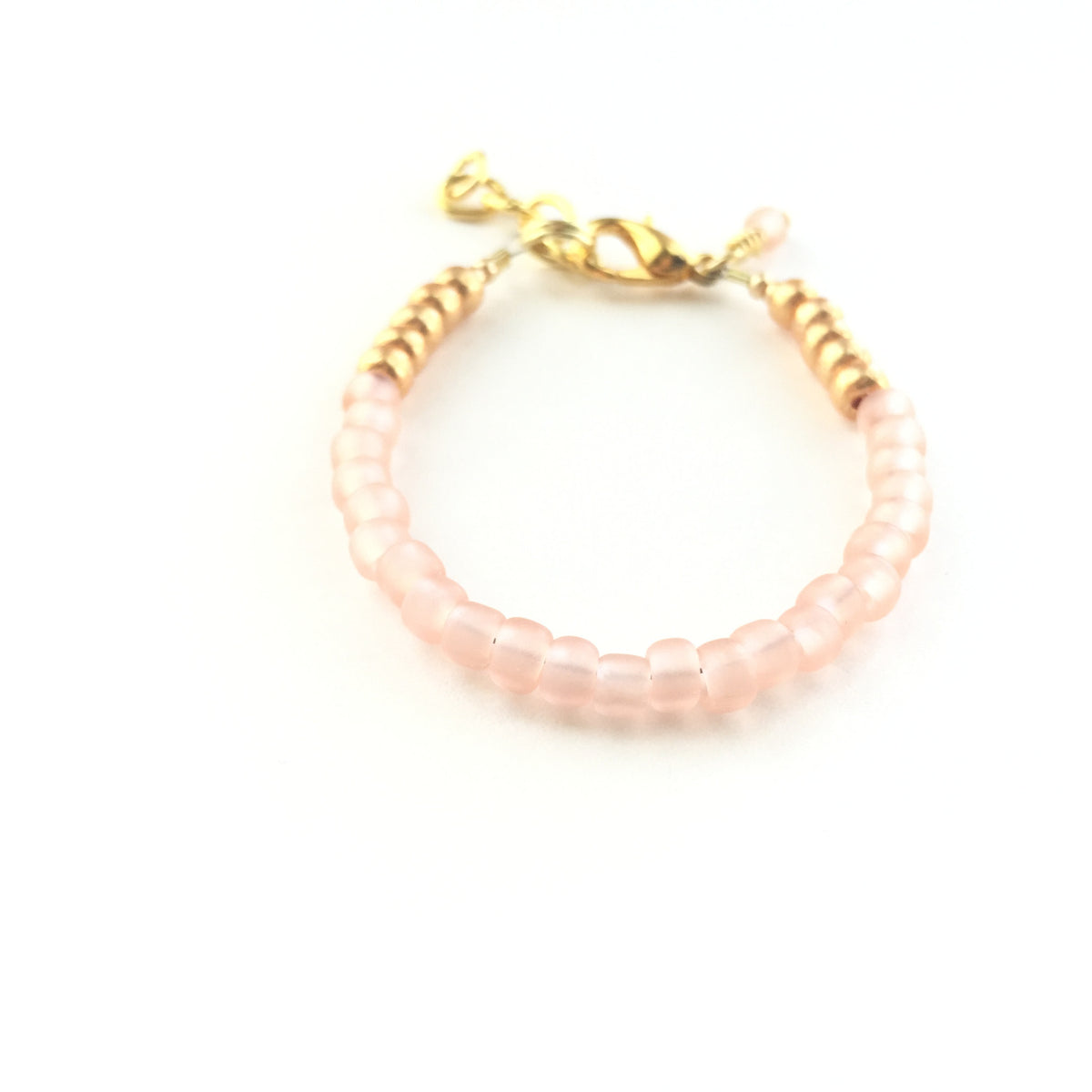 Soft Blush Stackable Bracelet