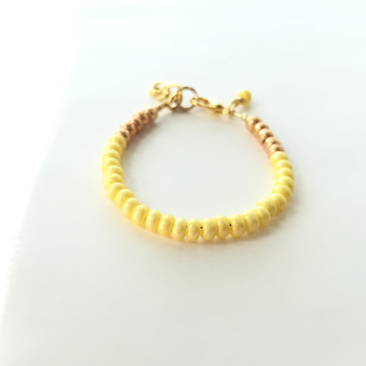 Canary Stackable Bracelet