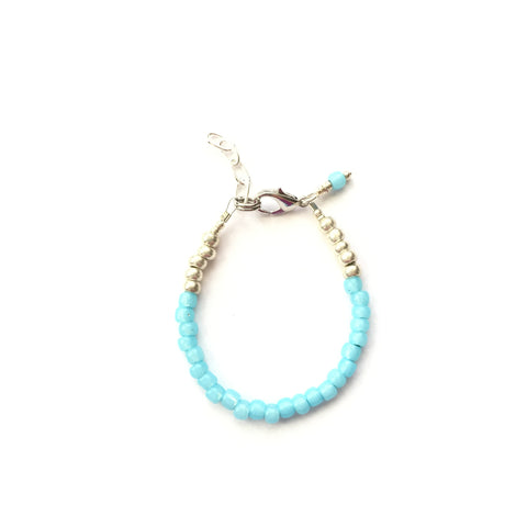 Aruba Blue Stackable Bracelet