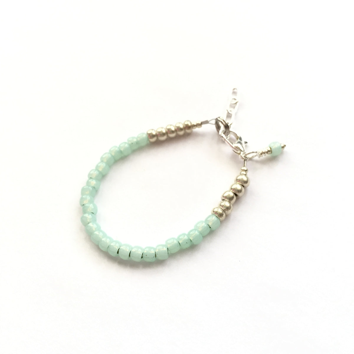 Sea Foam Stackable Bracelet