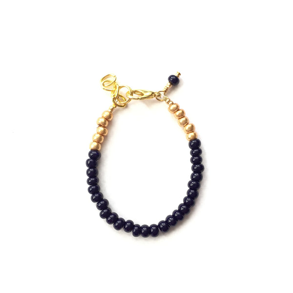 Navy Blue Stackable Bracelet