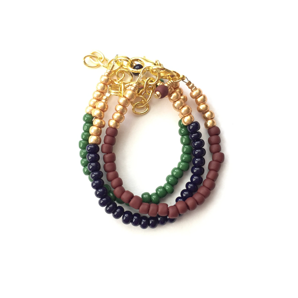 Army Green Stackable Bracelet