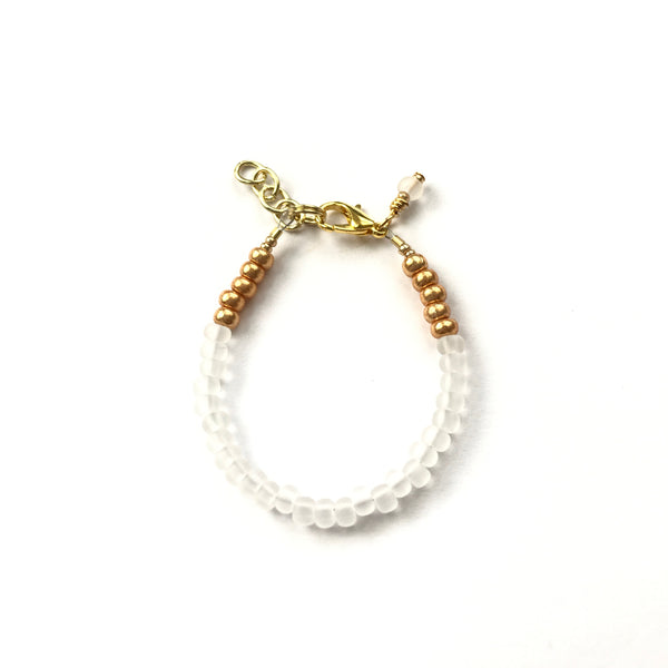 Frosted Diamond Stackable Bracelet