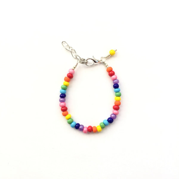 Rainbow Stackable Bracelet