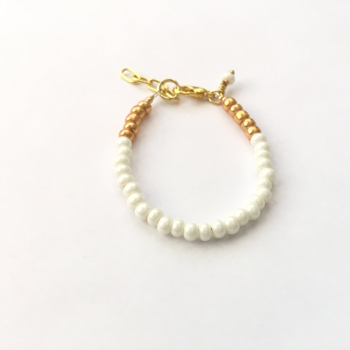 Cream Stackable Bracelet