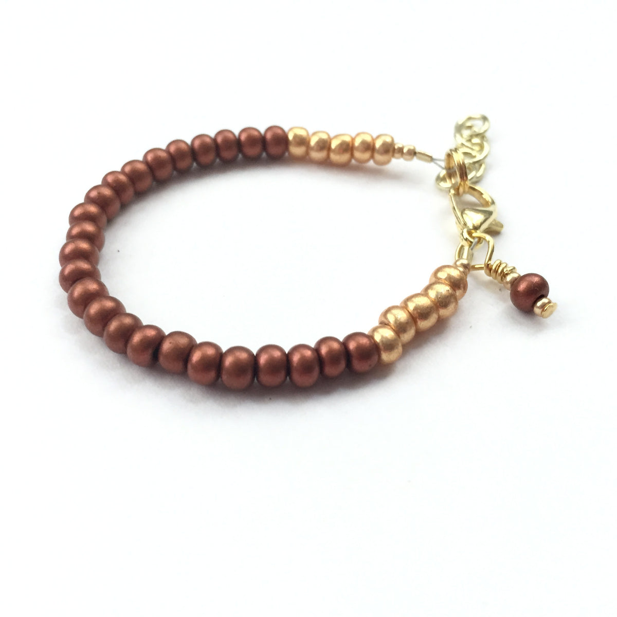 Copper Kettle Stackable Bracelet