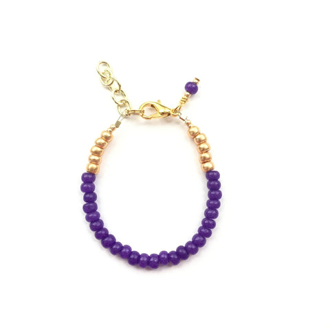 Aubergine Stackable Bracelet
