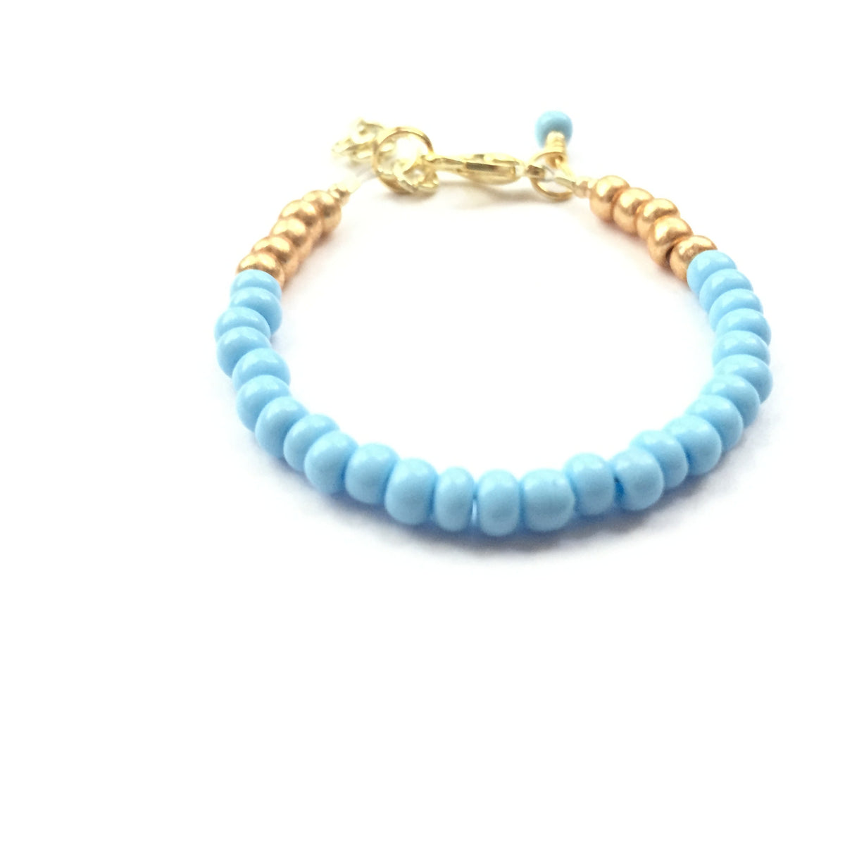 Baby Blue Stackable Bracelet