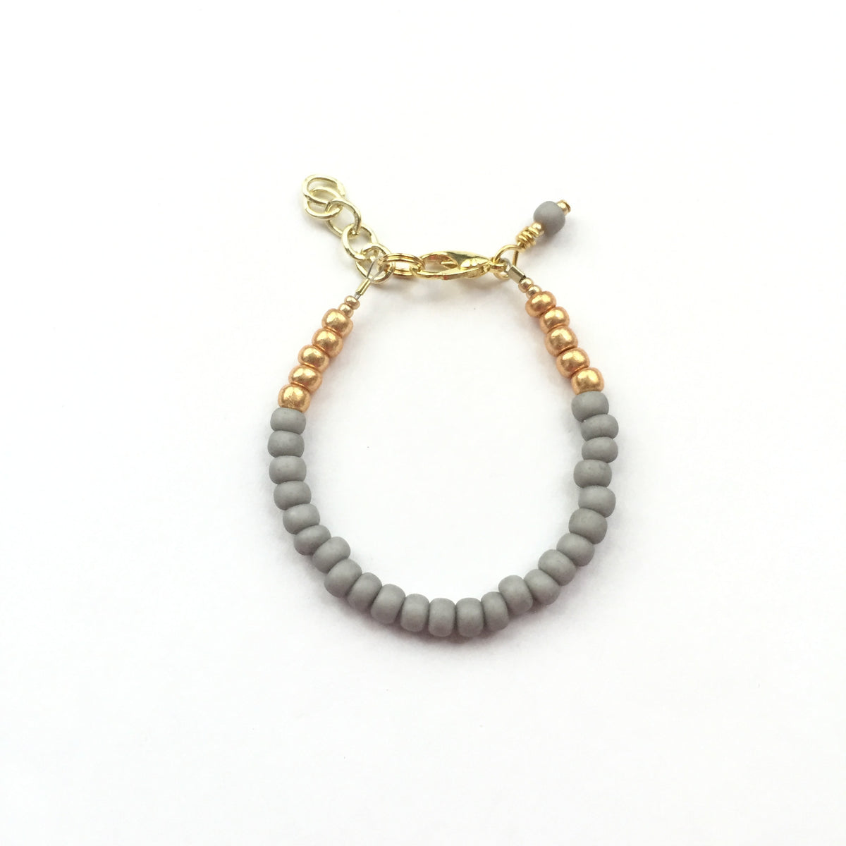Elephant Grey Stackable Bracelet
