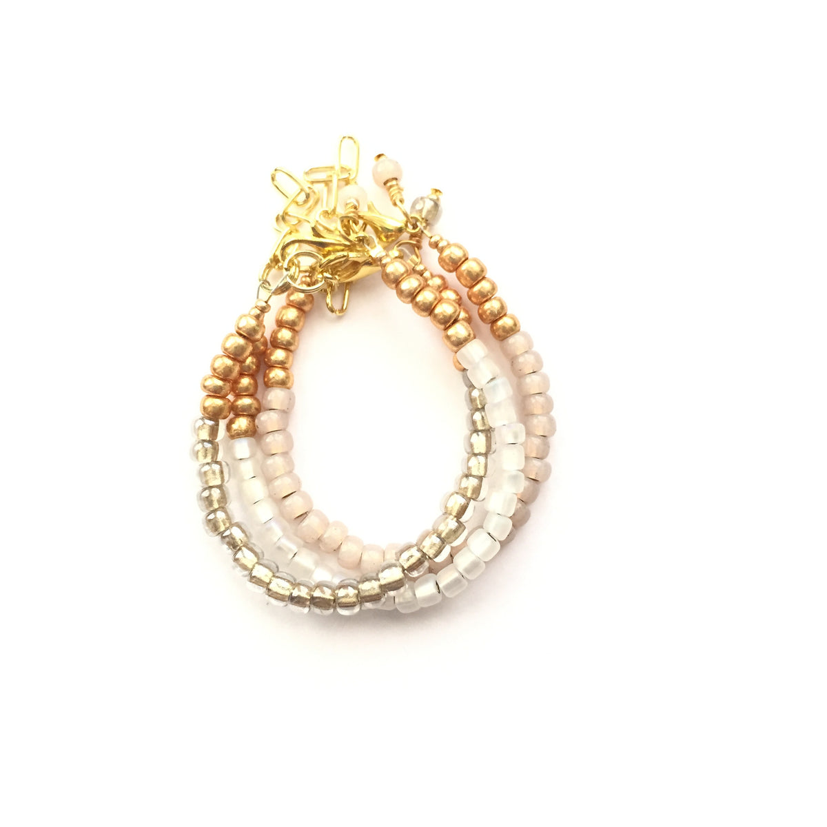 Champagne Stackable Bracelet