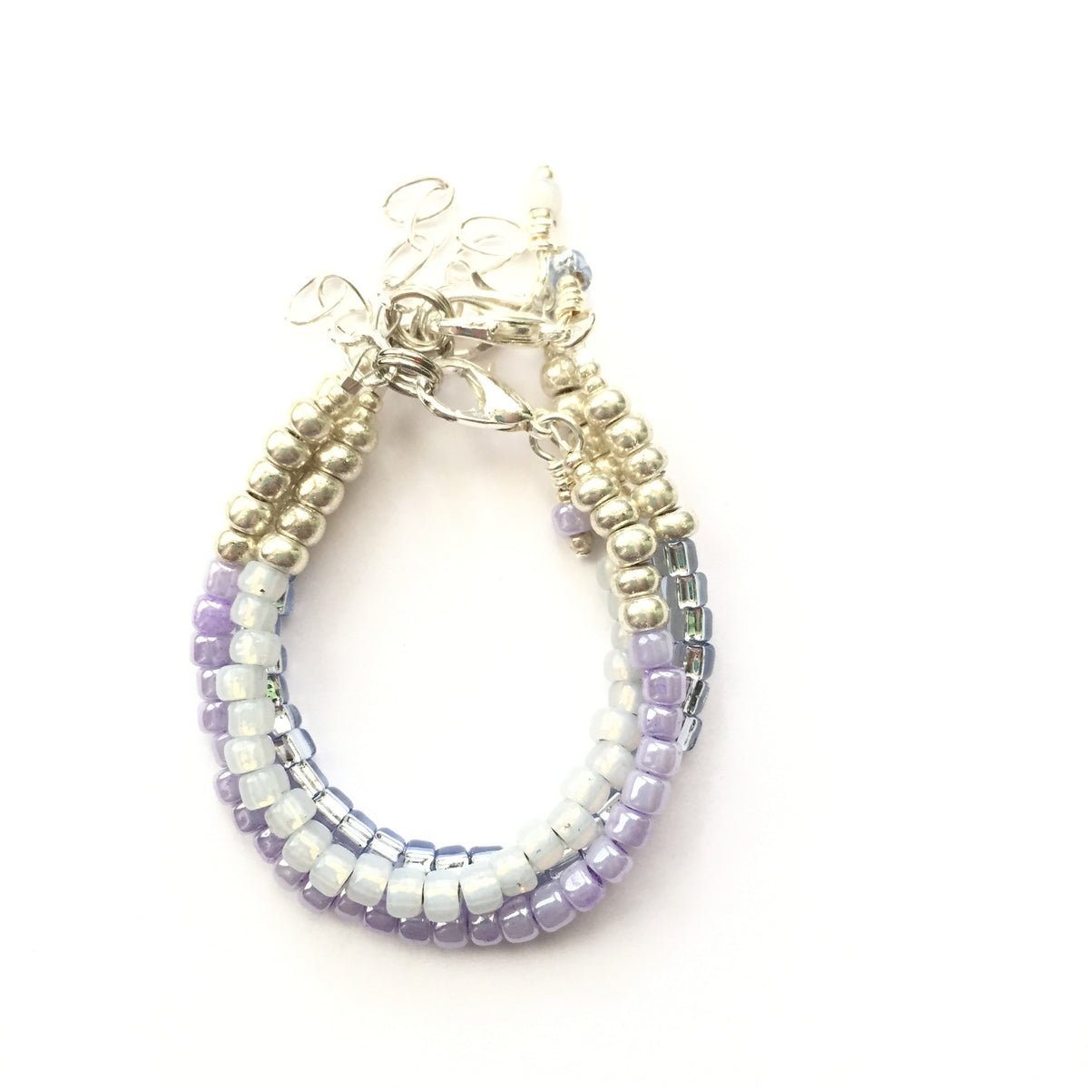 Lilac Stackable Bracelet