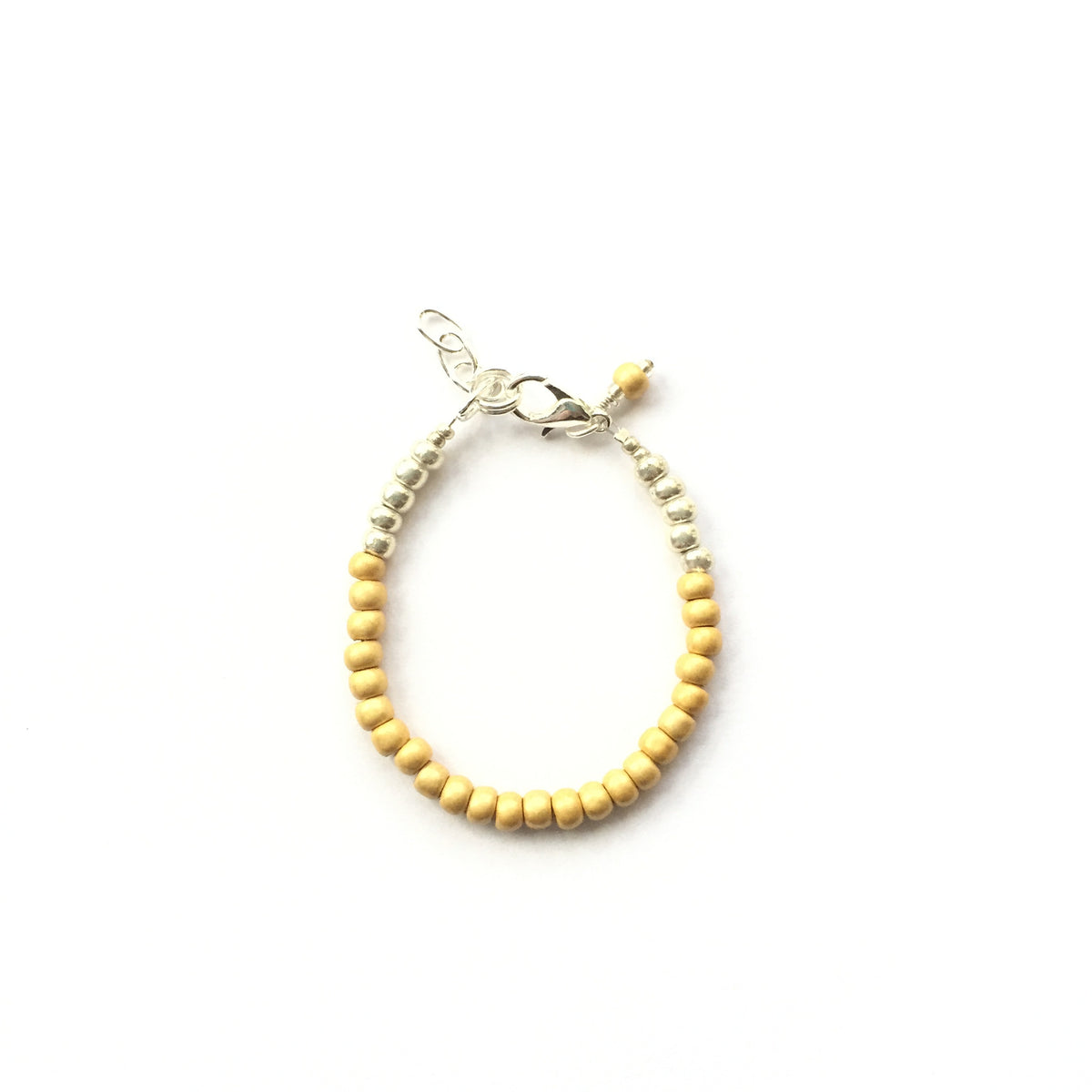 Mustard Stackable Bracelet