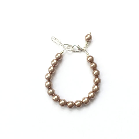 Classic Champagne Glass Pearl Bracelet