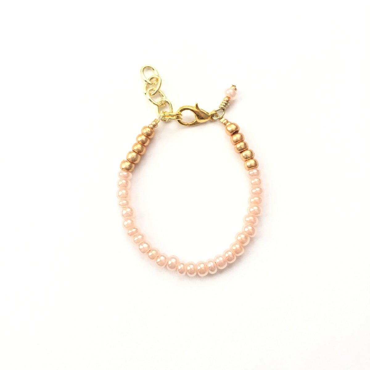 Sweet Peach Stackable Bracelet