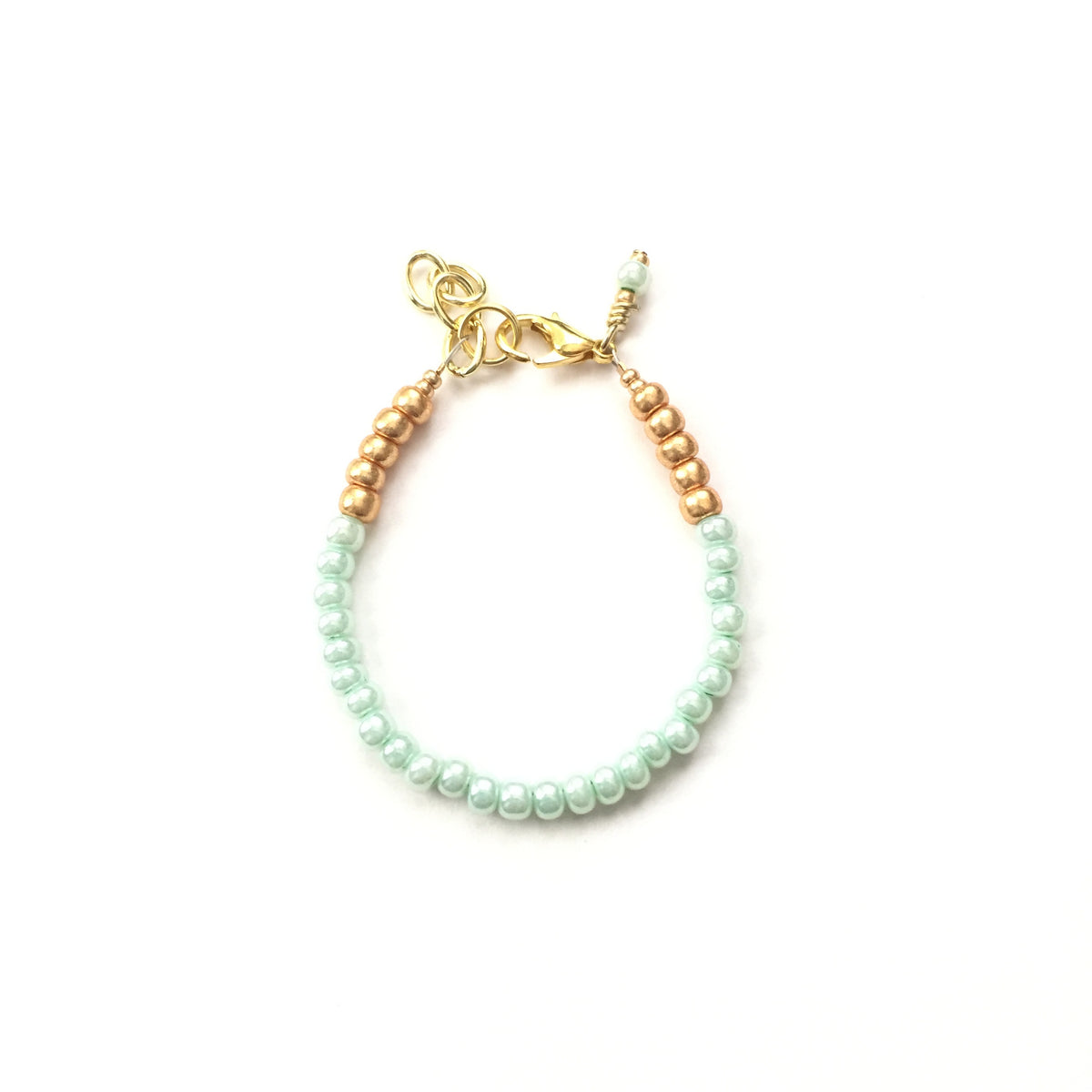 Mint Julep Stackable Bracelet