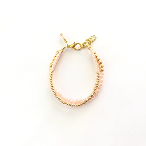 Sweet Peach Duo Bracelet