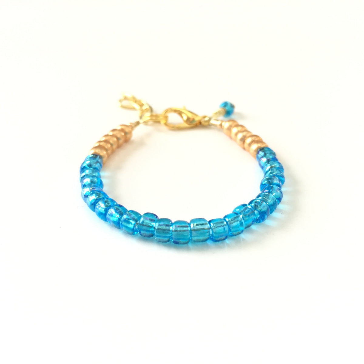December Birthstone Topaz Colored Stackable Bracelet