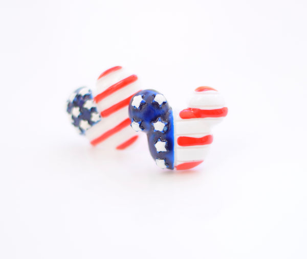 Mickey Red White & Blue Ring