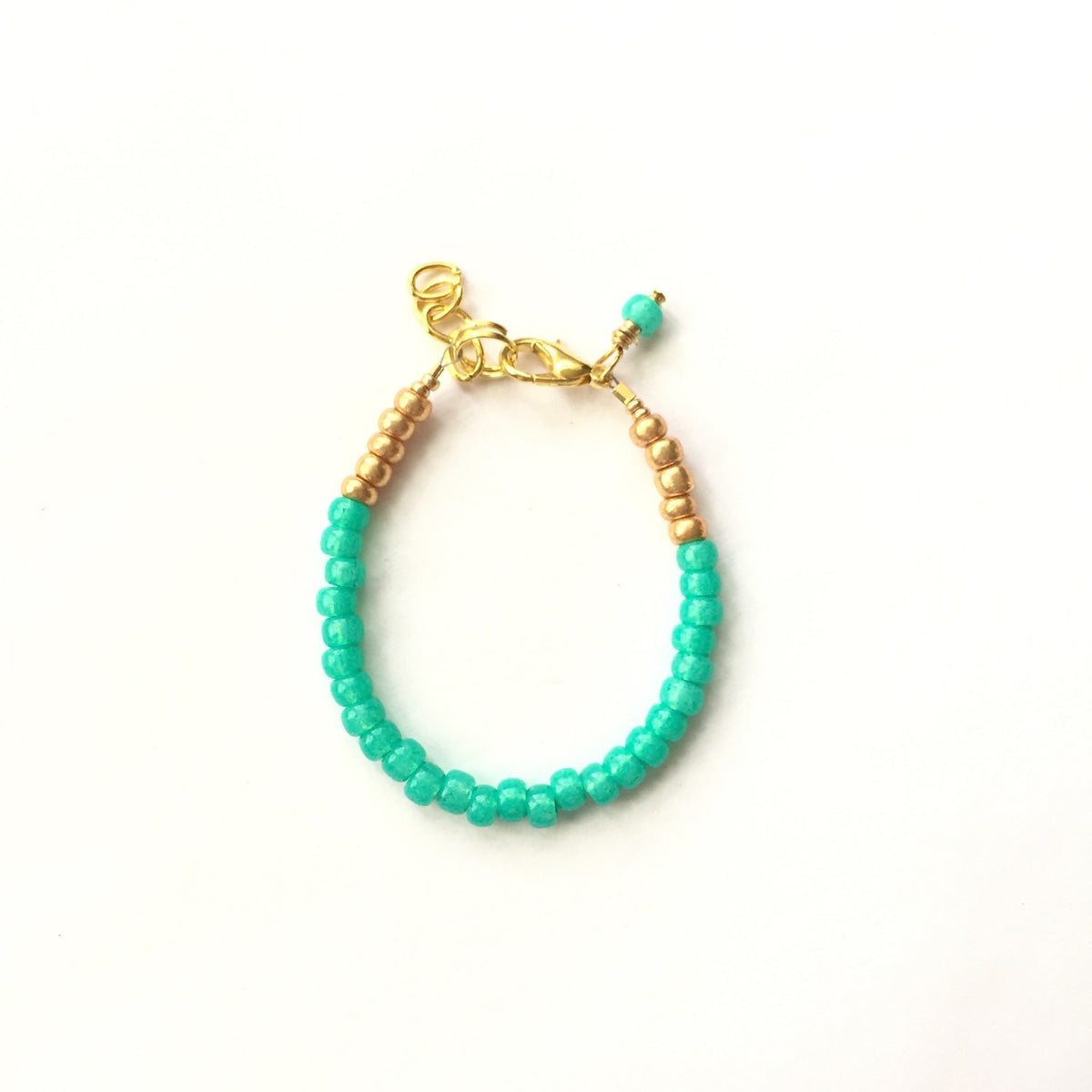 Peacock Stackable Bracelet