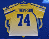 Game Worn & Autographed 2016 Jersey: Lyle Thompson