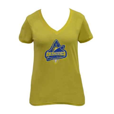 Florida Launch Vintage Next Level Yellow Shirt