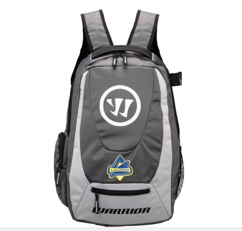 Warrior Jet Pack Lacrosse Backpack with Florida Launch Logo