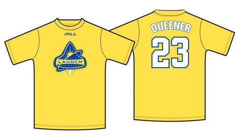 Brett Queener Player Jersey Tee
