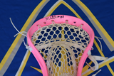 Mike Unterstein 2017 Florida Launch Game Used Pink Lacrosse Head