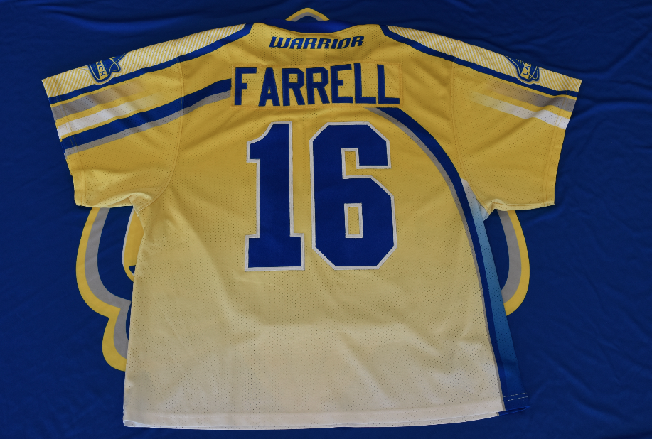 Game Worn Jersey: Pat Farrell