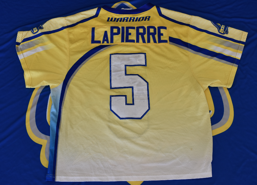 Game Worn Jersey: Chris LaPierre