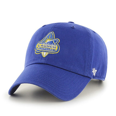 Blue Clean-Up Sideline Cap