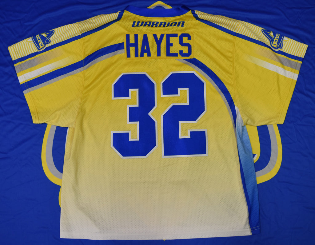 Game Worn Jersey: Jon Hayes