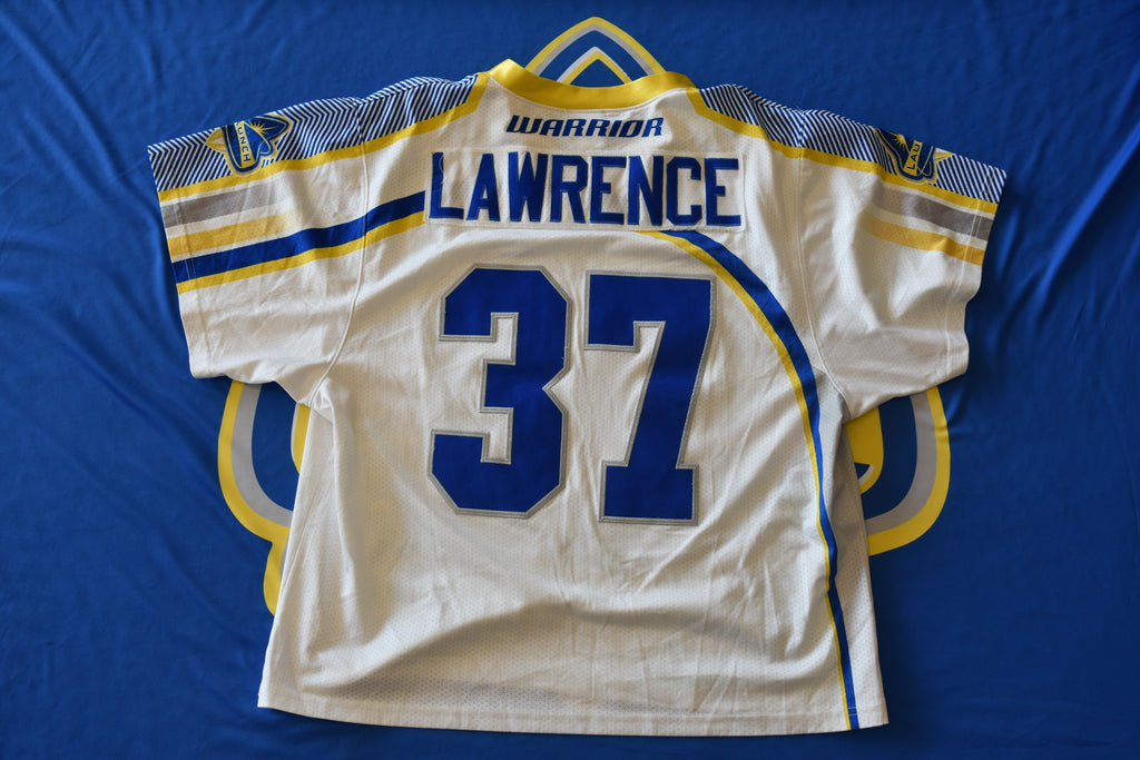 Game Worn Jersey: Bobby Lawrence
