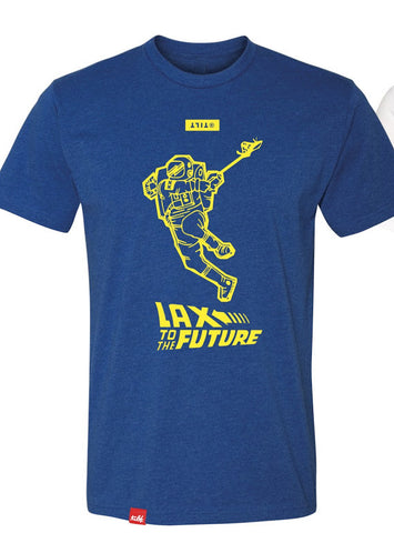 Florida Launch Lax To The Future T-shirt