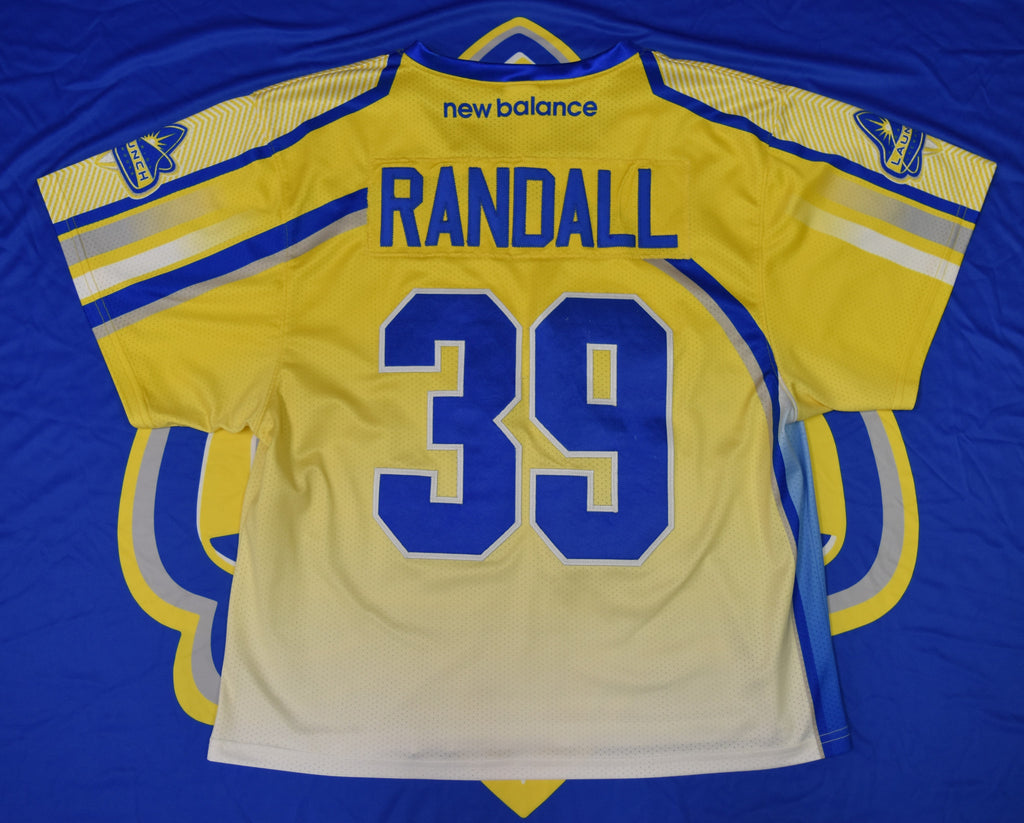 Game Worn Jersey: Kevin Randall