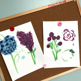 Project Workshops - Painting Spring Flowers