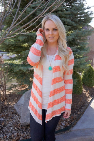 Sailor Striped Fall Cardigans