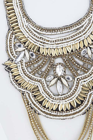 Gatsby Swag Statement Necklace