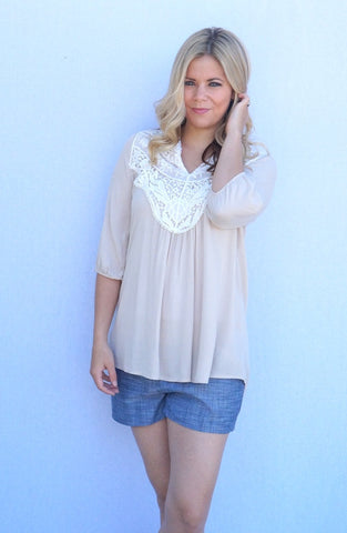The Lou Crochet Front Top