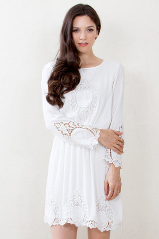 Whispey Lace Dress